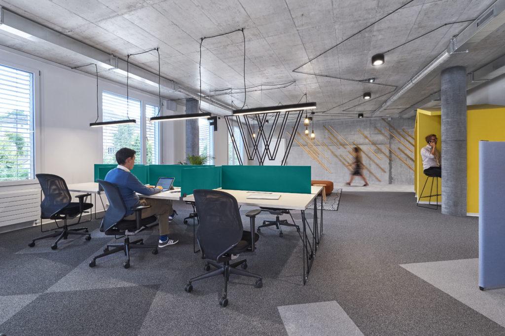 Vistas del resultado del Co-Working en Suiza. foto 2