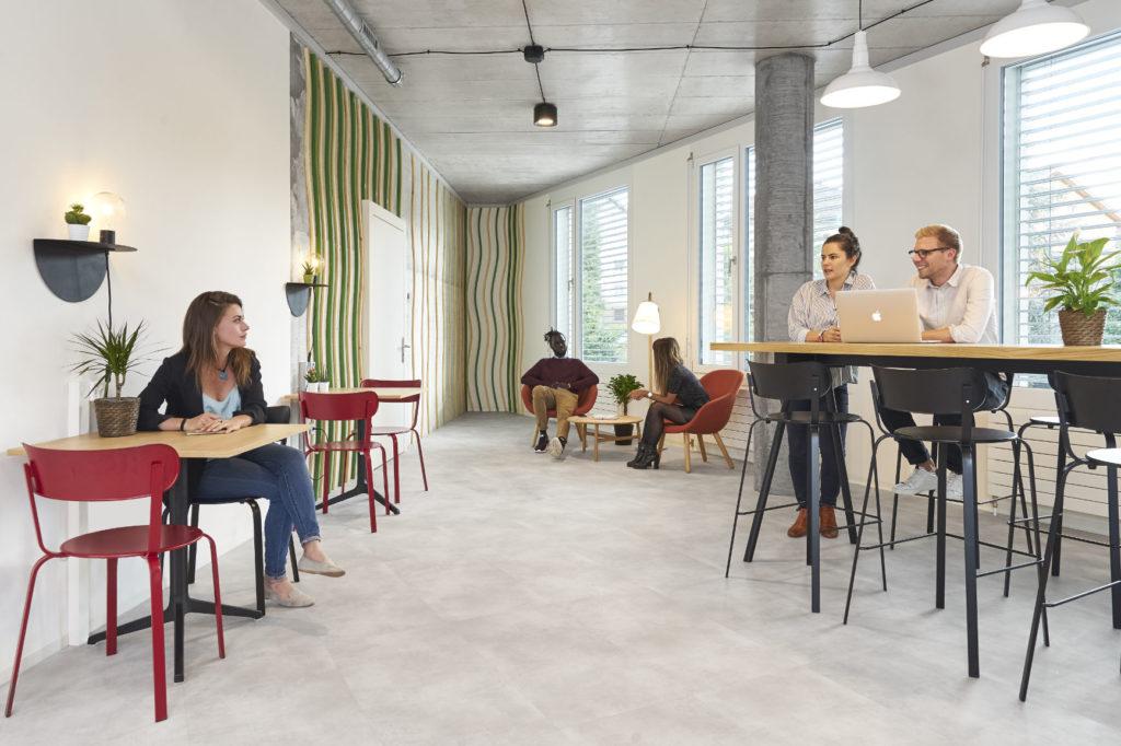 espacio diseñado por dowe